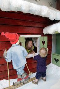 Elsa Beskows barnlounge på Arlanda utanför Stockholm