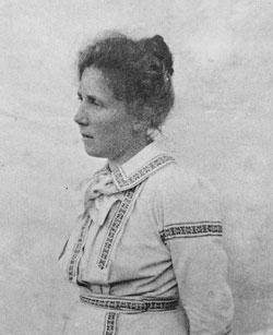En ung Elsa Beskow
